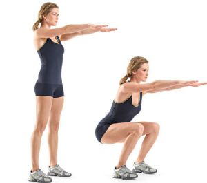 body-weight-squat